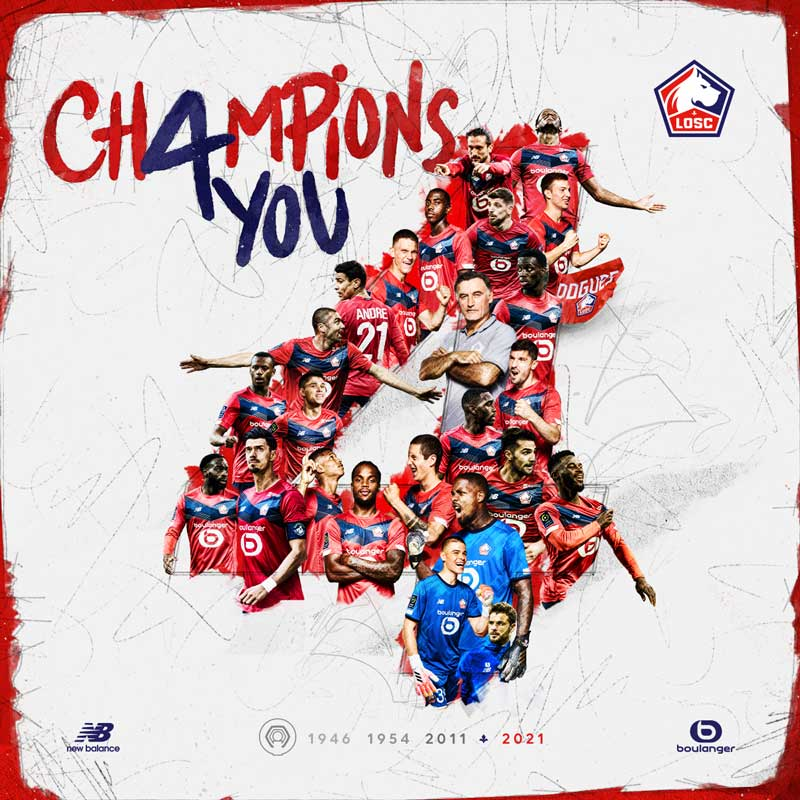 Lille ligue 1 champions 2020/21